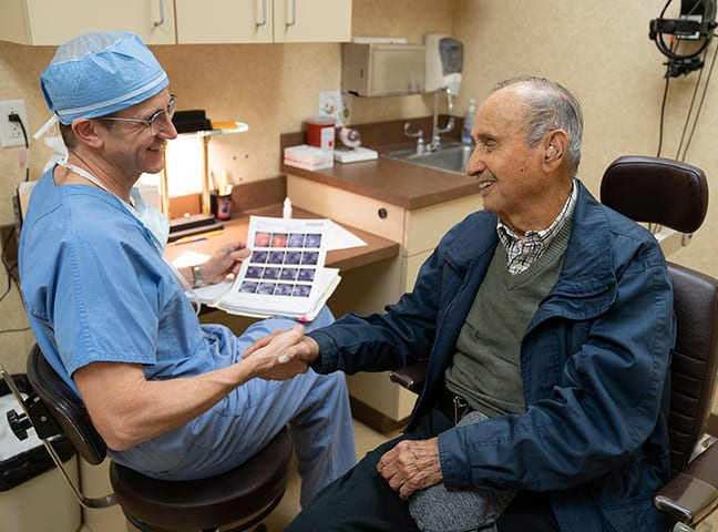 Dr. Hochman Helping Patients Regain their Vision